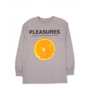 PLEASURES PENETRATION LONG SLEEVE TEE