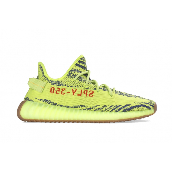 "ADIDAS : YEEZY BOOST 350 V2 ""SEMI FROZEN YELLOW"""