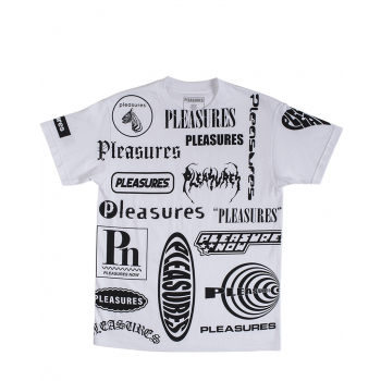 PLEASURES : LOGORAMA TEE