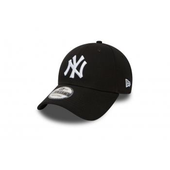 "NEWERA : 940 LEAGUE BASIC 9 FORTY NEW YORK YANKEE ""BLACK"""