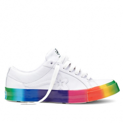 "CONVERSE X GOLF LE FLEUR : ONE STAR ""RAINBOW"""