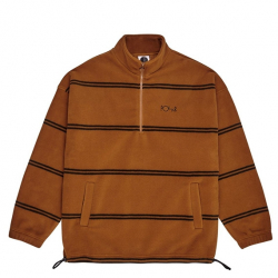 POLAR : STRIPED FLEECE PULLOVER 2.0