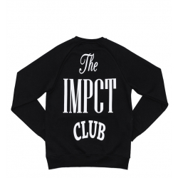 "IMPACT : CLUB CREWNECK ""BLACK"""