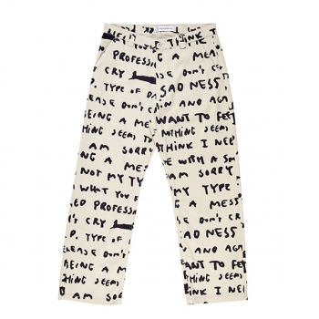 POLAR : SAD NOTES 40'S PANTS