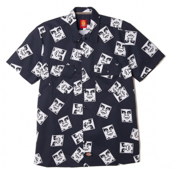 OBEY X DICKIES : WORK SHIRT