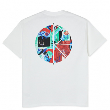 POLAR : MOTH HOUSE FILL LOGO TEE