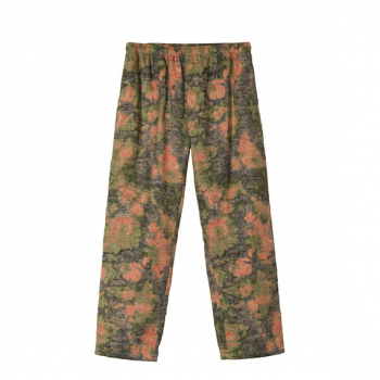 STÜSSY : REVERSE JACQUARD RELAXED PANT