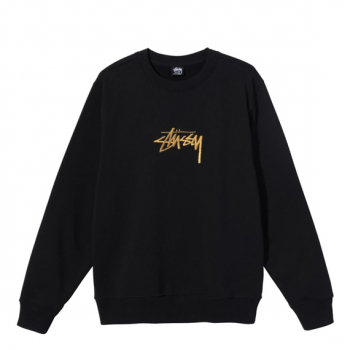 STUSSY : STOCK EMBROIDERED CREW