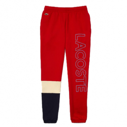 LACOSTE : MOLLETON COLOR BLOCK PANT